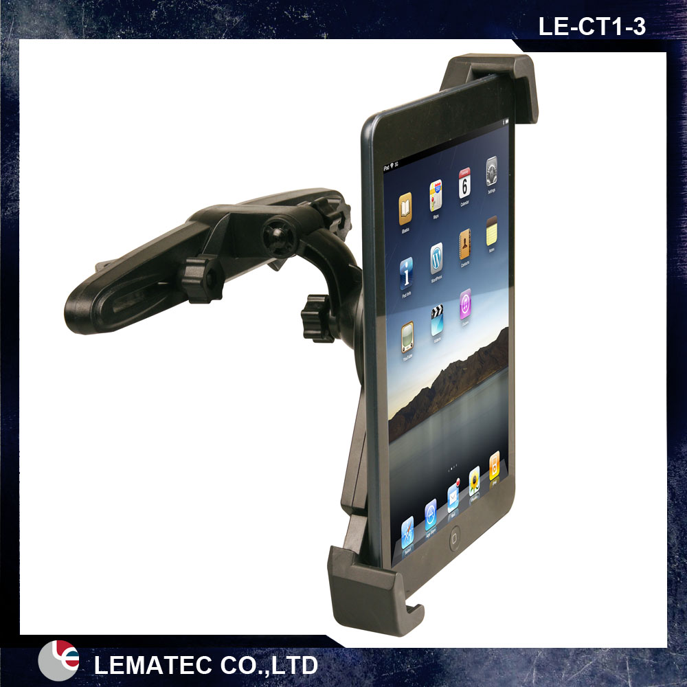 LEMATEC Universal 360 Degree Rotation Car Seat Headrest Holder Mount For iPad 4 Mini 3 Air 2 for Android for Samsung Galaxy Tab universal car suction cup mount bracket holder stand for samsung galaxy note 3 more black