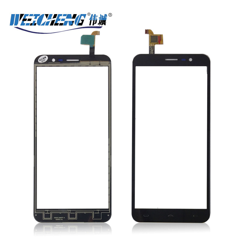 WEICHENG For <font><b>Homtom</b></font> S16 Touch Screen Original Tested New Glass Panel For <font><b>homtom</b></font> s <font><b>16</b></font> Touch Screen image