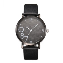 Simple and stylish quartz watch ladies sports leather strap casual watch,