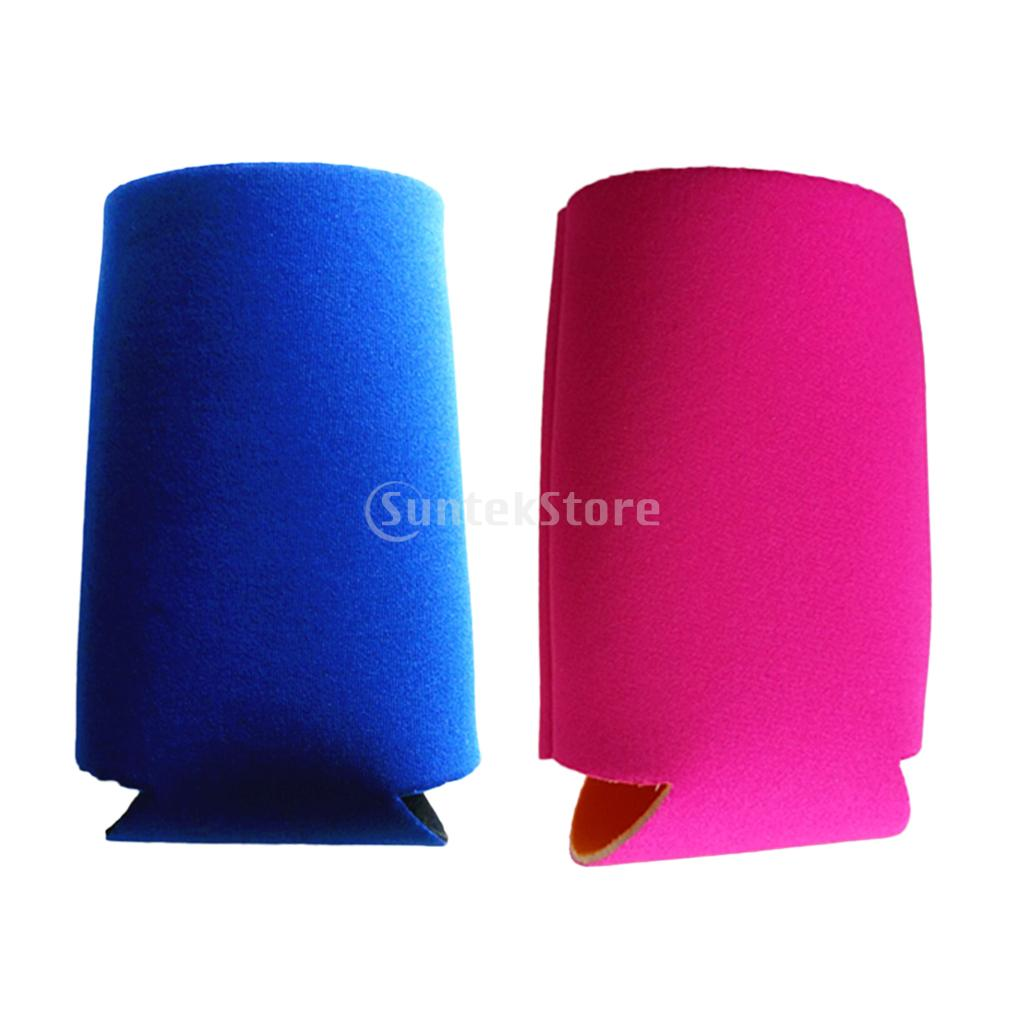 2Pieces Neoprene Insulated Beer Can Cooler Bottle Holder Sleeve New