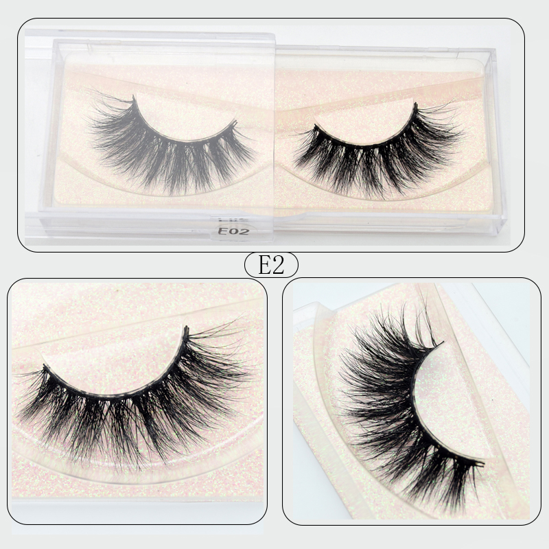 Visofree Mink Eyelashes Crisscross Natural False Eyelashes Eyelash Extension Full Strip False Lashes Handmade Fake Eyelashes E11
