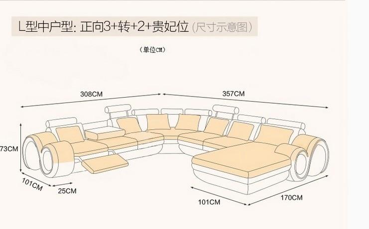 γνήσιο / πραγματικό δερμάτινο καναπέ - Επιπλα - Φωτογραφία 2