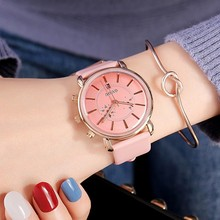 New Luxury Leather Strap Crystal Watch Women Fashion Rose Gold Quartz Watches Retro 2019 Top Brand Female Waterproof Clocks fashion 2018 watch luxury crystal gold watches women bling gold crystal womensluxury leather strap quartz wrist watch new