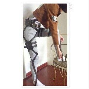Image 3 - Ataque em titan shingeki nenhum kyojin recon corps cinto arnês hookshot traje cintos ajustáveis cosplay a447