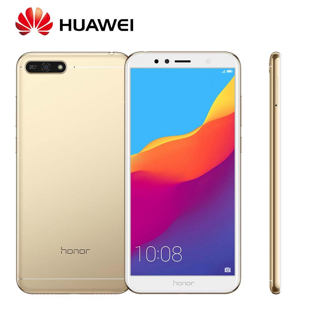 Mondial Rom Huawei Honor 7A Android 8.0 13MP + 8MP Caméras 3000 mah Visage ID Soutien OTA mise à jour Snapdragon430 Mobile téléphone