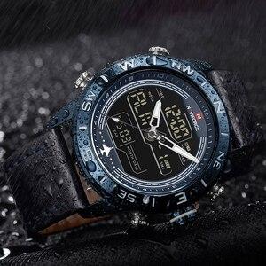 Image 5 - NAVIFORCE montre bracelet pour hommes, de marque supérieure, de Sport, de mode, Quartz, étanche, militaire, 2019