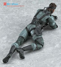METAL GEAR SOLID 2: SONS OF LIBERTY Figma 243 Snake PVC Action Figure Collectible Model Toy 16cm P45
