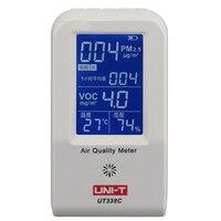 UNI T UT338C качества воздуха метр PM2.5 air quality детектор контроля температуры, влажности с подсветкой