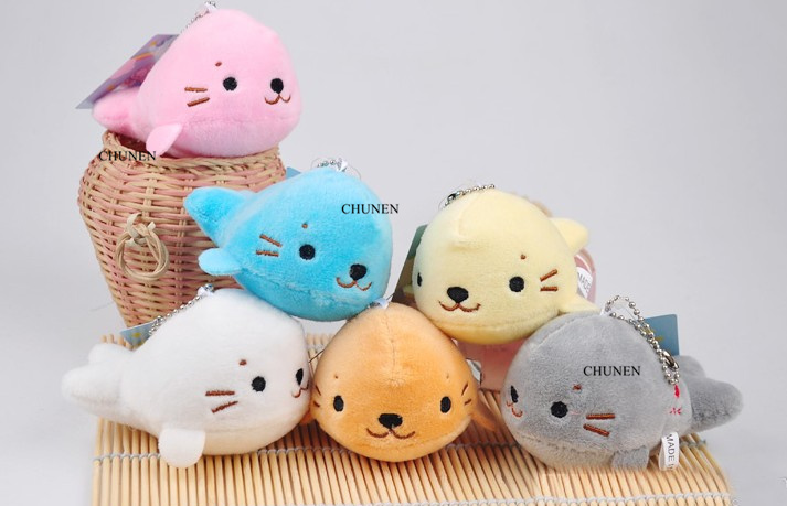 ALL 6Colors, Small Dolphin Ocean Animal Stuffed Plush Dolls Toys(China)