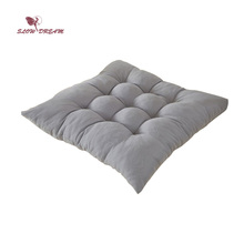 Slow DreamSeat Cushion Square 40X40CM For Chair Home Decor Bedroom Living Room Kitchen Gray Back Sofa Car
