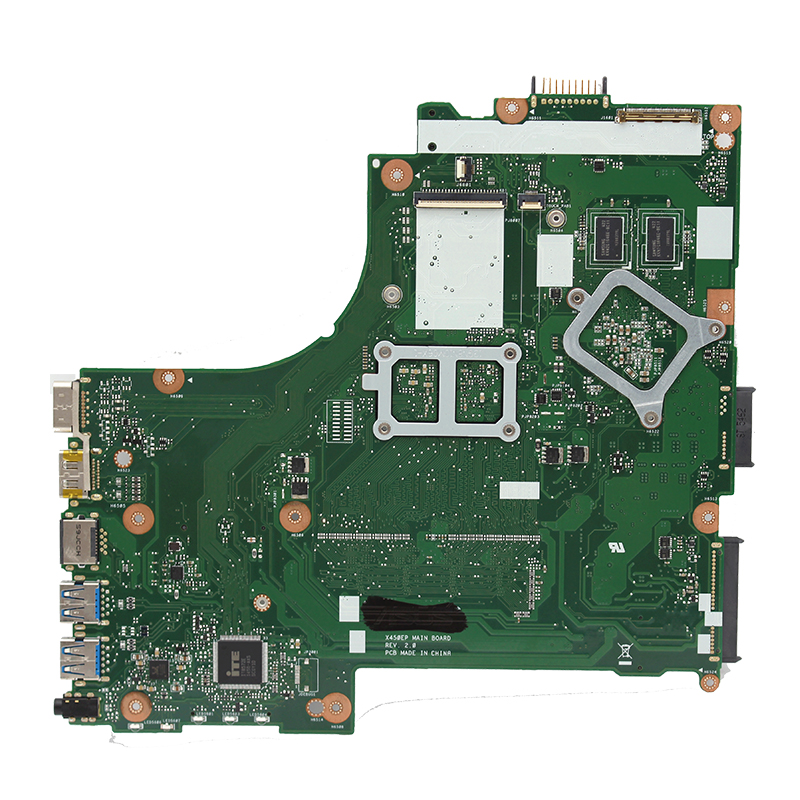 Original For ASUS X450EP X452E X450EA X450E X452EP laptop motherboard A4-5100 CPU HD8600 1G GPU DDR3 100% fully Tested 1