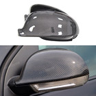 For Volkswagen Golf 5 Carbon Mirror Replacement VW MK 5/ Matogan Carbon Fiber Mirror Cover 2003 2004 2005 2006 2007 2008 2009