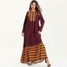 e49e7b0326 Vestidos Kaftan Abaya Dubai Turquía islámica árabe Hijab musulmán vestido  Abayas las mujeres caftán Elbise Ramadán bata Musulman.
