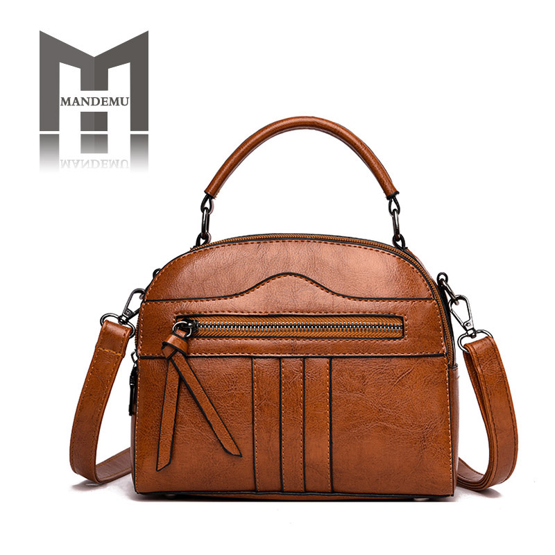 Solid Color Soft PU Leather Women Bags High Quality Vintage Fashion Shoulder Bags Ladies Casual Totes Female Small Crossbody BagSolid Color Soft PU Leather Women Bags High Quality Vintage Fashion Shoulder Bags Ladies Casual Totes Female Small Crossbody Bag