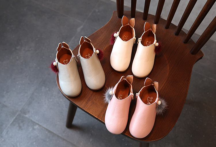 2017 Baby Girl Shoes Spring And Autumn Girls Boots Round Head Low Boots Boots Children Shoes Girls Garden Shoes Free Shipping