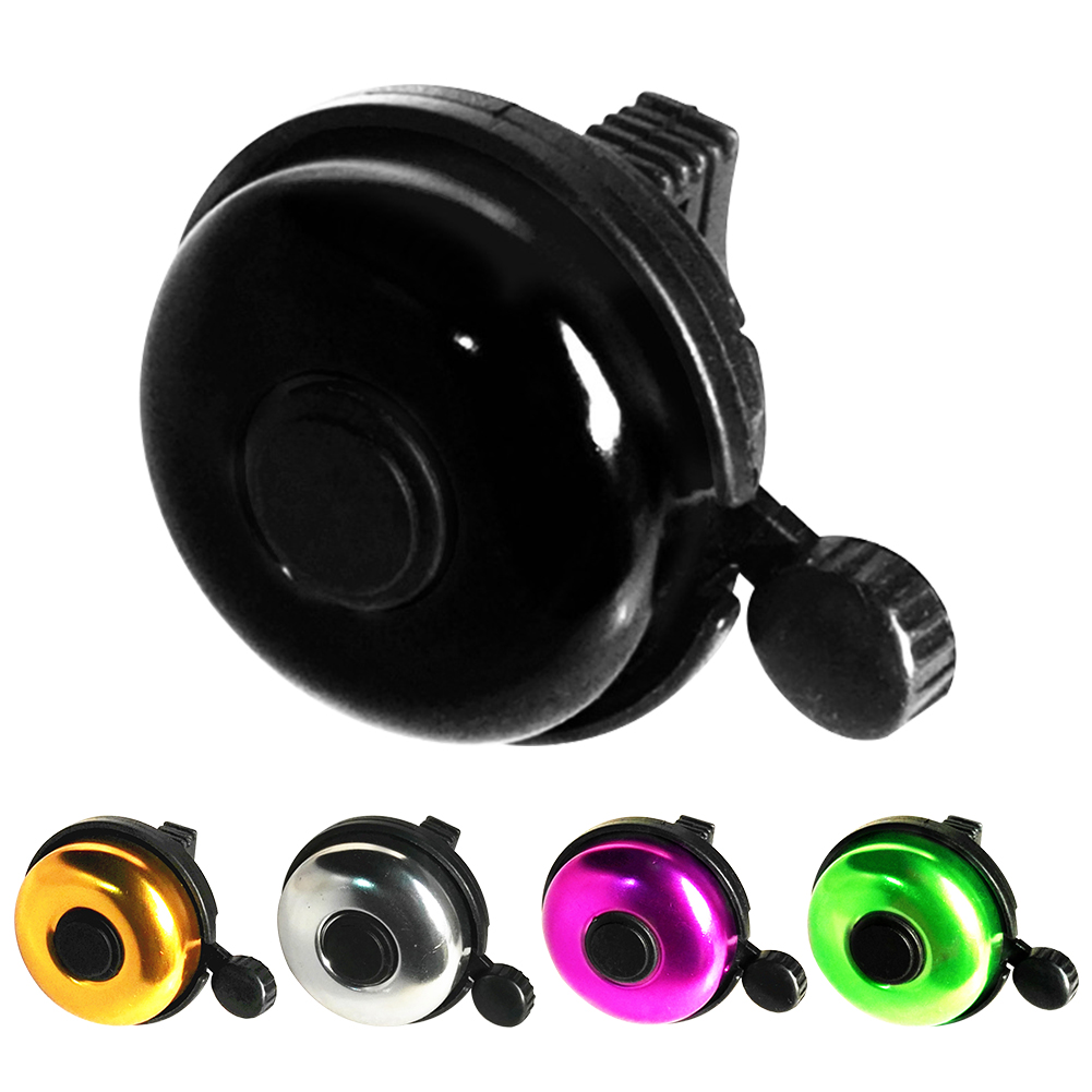 Safety Cycling Durable Accessory Rainproof Solid Aluminum Alloy Bicycle Bell Loud Sound Classical Ring Mountain Bike Handle Bar