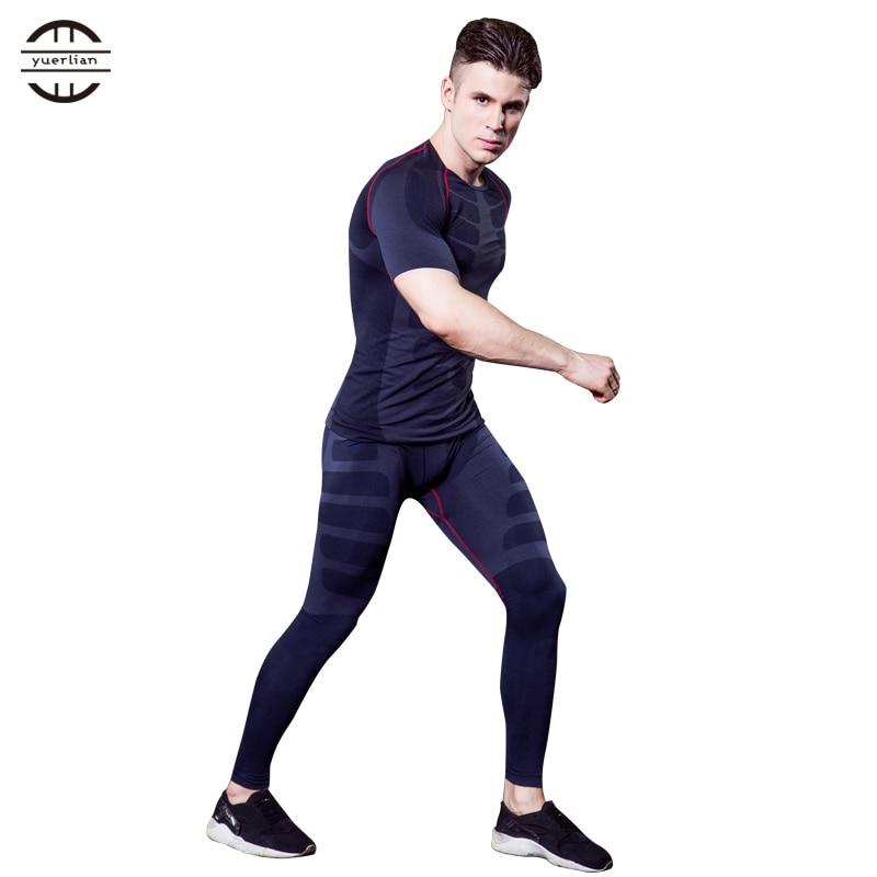 Nuevo juego de correr T Shirt Fitness Leggings Running Gym Training - Ropa deportiva y accesorios - foto 1