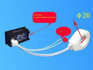 Image 3 - DC 5V 120V 50A/100A/200A/400A woltomierz cyfrowy amperomierz ładowania rozładowania czujnik halla transformator dla 12V 24V samochód bateria słoneczna