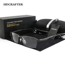 HDCRAFTER Urltra светильник, оправа для очков из алюминиево магниевого сплава, мужская оправа для очков по рецепту, оправа для очков с прозрачными линзами