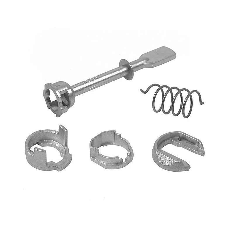 Car Iron Door Lock Cylinder Repair Kit For Caddy 1995-2003 2/3 and 4/5 - Doors, front left or right 5 Piece 6K4837223A