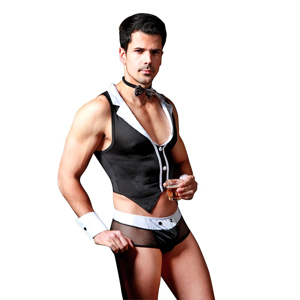 Sexy mens underwear jockstrap boxer briefs lingerie outfits cosplay costume