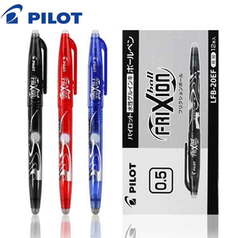 Pilot 3 adet 0.5mm renkli silinebilir jel kalemler silinebilir jel mürekkep kalem okul ofis kırtasiye malzemeleri öğrenci mürekkep tükenmez kalem