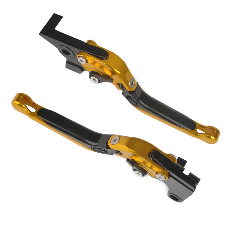 Mayitr Yellow Motorcycle Aluminum CNC Extendable Brake Clutch Lever for Yamaha MT-09 2014-2016 Tracer 2015-2016 Hot Sale 2016 hot sale golden color cnc aluminium motorcycle brake clutch lever protect guard for yamaha mt 01 2004 2009