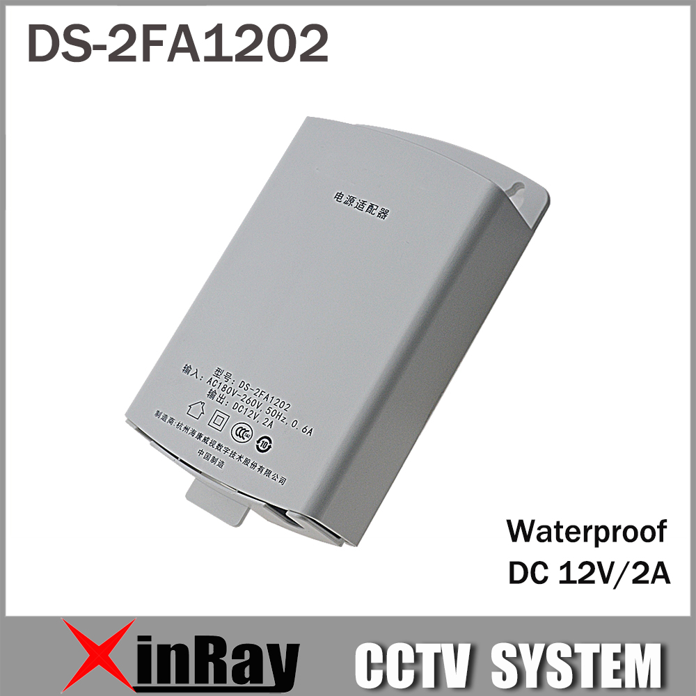 Hik Power Adapater DS-2FA1202 Wall mounting Waterproof Power Socket Suit for Hikvsion IP Camera hik повседневные брюки