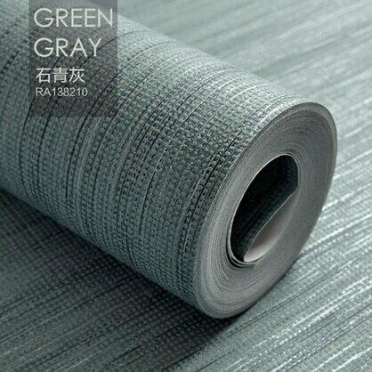 Koop 9 kleuren pure linnen achtergrond behang moderne 3d matte vliesbehang roll - Modern behang voor volwassen kamer ...