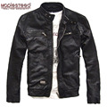 Factory Genuine Leather Jacket Men Leather Jacket Real Sheep Goat Skin Brand Black Male Leather Jacket Man's Leather Coat Autumn