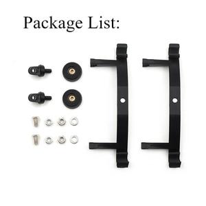 Image 2 - Pour DJI Phantom 4 Pro + Drone Kit support latéral étendu support de lumière LED pour DJI Phantom 4 Pro Adv support de caméra pour Gopro