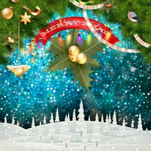 цены Laeacco Winter Merry Christmas Pine Nuts Star Polka Dots Snow Pattern Photo Backgrounds Photo Backdrops Photocall Photo Studio