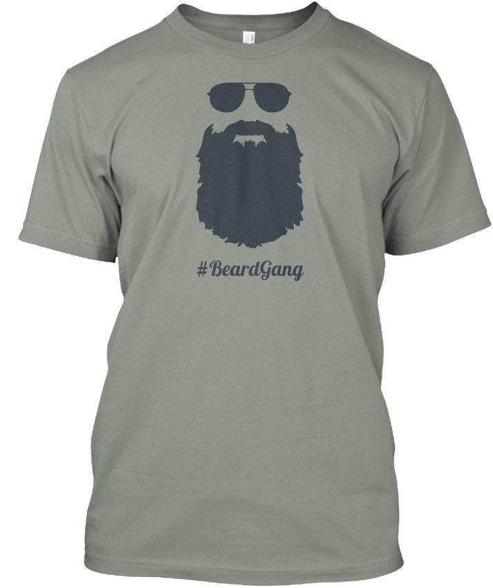 Beard Gang Lifestyle Hoddie Premium Tee T-Shirt
