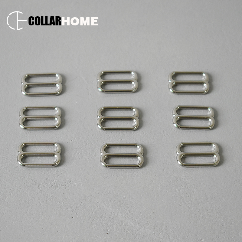 Adjustable plated metal adjuster slider for 1 Inch 25mm webbing DIY straps bag belts buckle Tri glide button sewing accessories in Buckles Hooks from Home Garden