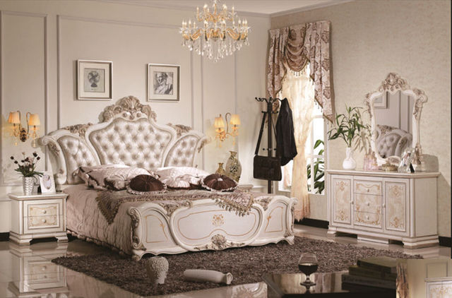 Luxury Suite Bedroom Furniture Of Europe Type Style Including - Luxury bedroom suites furniture