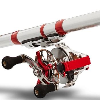 Eis Angelrollen | YUYU Volle Metall Fly Fishing Reel Automatische Kabeltrommel Mit Bremse Aluminium Legierung Eis Fisch Reel Rechts Links Getriebe Verhältnis 2,6: 1 2BB