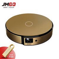 JmGO E8 DLP Projector Smart Home Theater Support 3D 1080P 300 inch Hi Fi Bluetooth Projector Android WIFI Proyector Beamer
