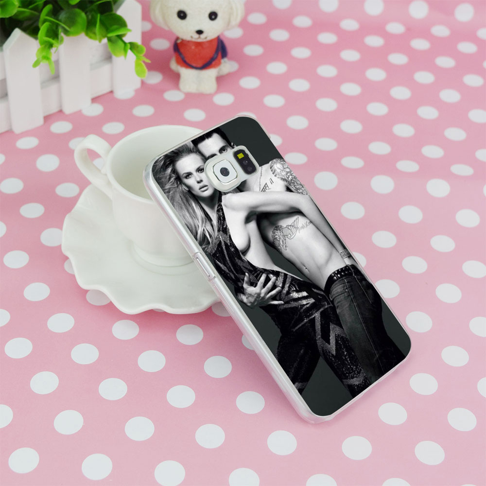 G14 Adam Noah Levine Transparent Hard PC Case Cover For Samsung Galaxy S 3 4 5 6 7 8 Mini Edge Plus Note 3 4 5 8