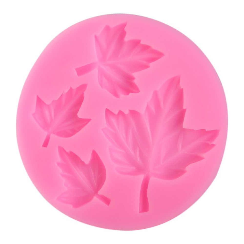 Maple Leaf 3D Silicone Mold Chocolate Candy Fondant Cake Decorating Tools Cupcake Soap Candle Gum Paste Molds