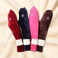 Çocuk 'S Pantolon Kış Kar Artı Kadife Kalınlaşmak Pantolon Moda Legging Çocuk Bebek Kız/Erkek Sıcak Pantolon Dış Giyim