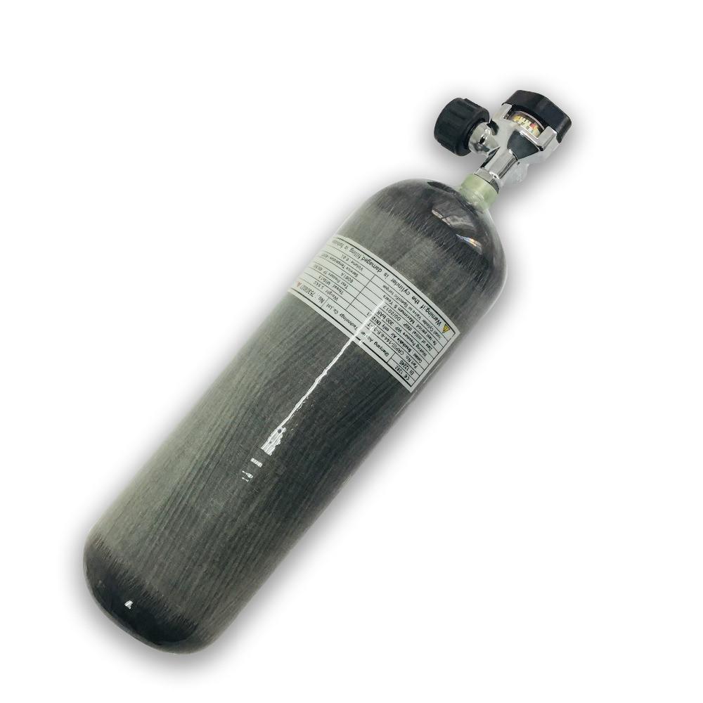 Schlussverkauf Ac10321 Scuba Mini Tauchen 3l Airsoft Paintball Schießen Ziele Zylinder Für Tauchen Co2 Gewinde Pcp Luftgewehr Softgun Acecare Feuer-atemschutzmasken