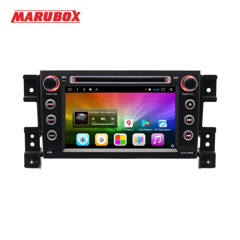 MARUBOX 7A905DT3 Voiture Lecteur Multimédia pour Suzuki Grand Vitara, Quad Core, Android 7.1, 2 gb RAM 32 gb ROM, GPS, Radio, Bluetooth, DVD