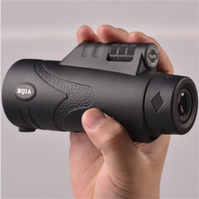 Sale Genuine BIJIA Telescope monocular 10×42 zoom Optical Prism waterproof Non – infrared night vision Hunting Support Drop shipping