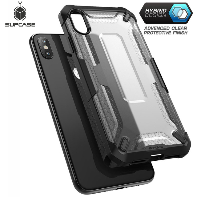 SUPCASE pour iphone Xs Max housse de protection 6.5 pouces UB série Premium hybride étui de protection transparent pour iphone XS Max 2018