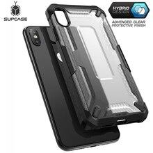 Supcase para iphone xs max caso capa 6.5 polegada ub série premium híbrido caso claro de proteção para iphone xs max 2018