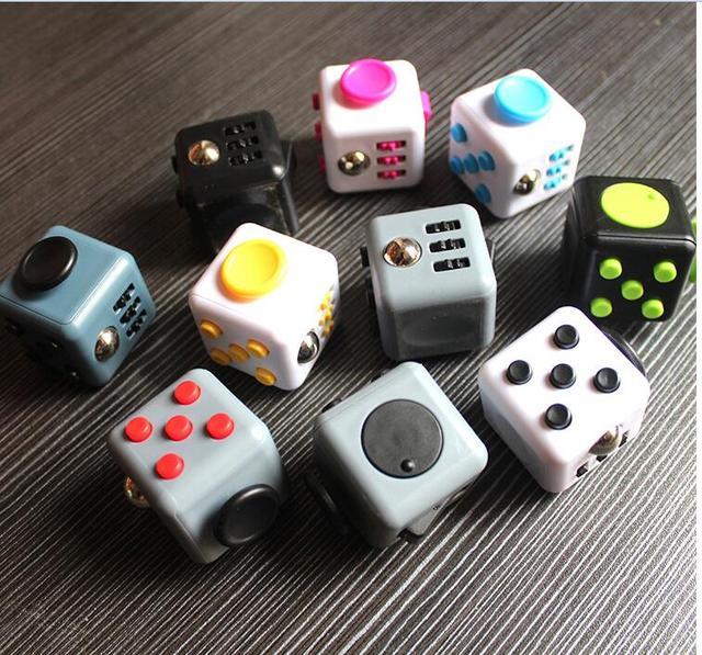 Fidget Cube Toys A Vinyl Desk Kickstarter For Girl Boys Chrismtas Gifts Camouflage