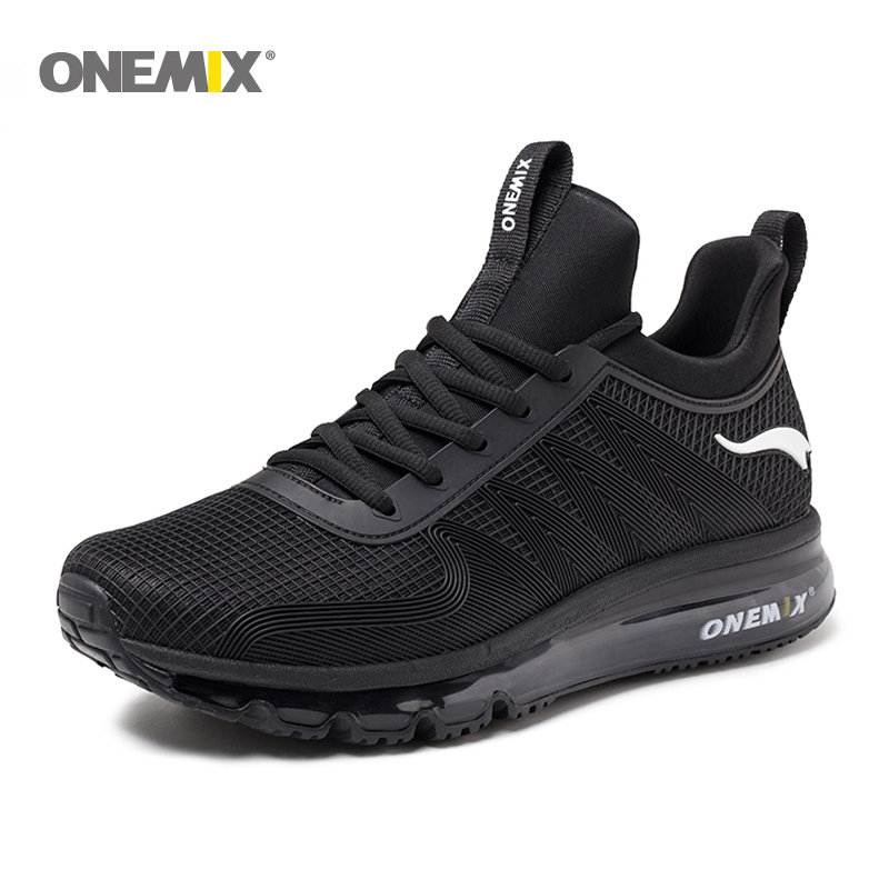 Image 2 - ONEMIX Men Runing shoes Winter KPU Mesh Air Sole Outdoor Casual  Outdoor Jogging Air Cushioning Gym Fitness Sneakers Max 12free shipping  running shoesrunning shoesrunning shoes free shipping