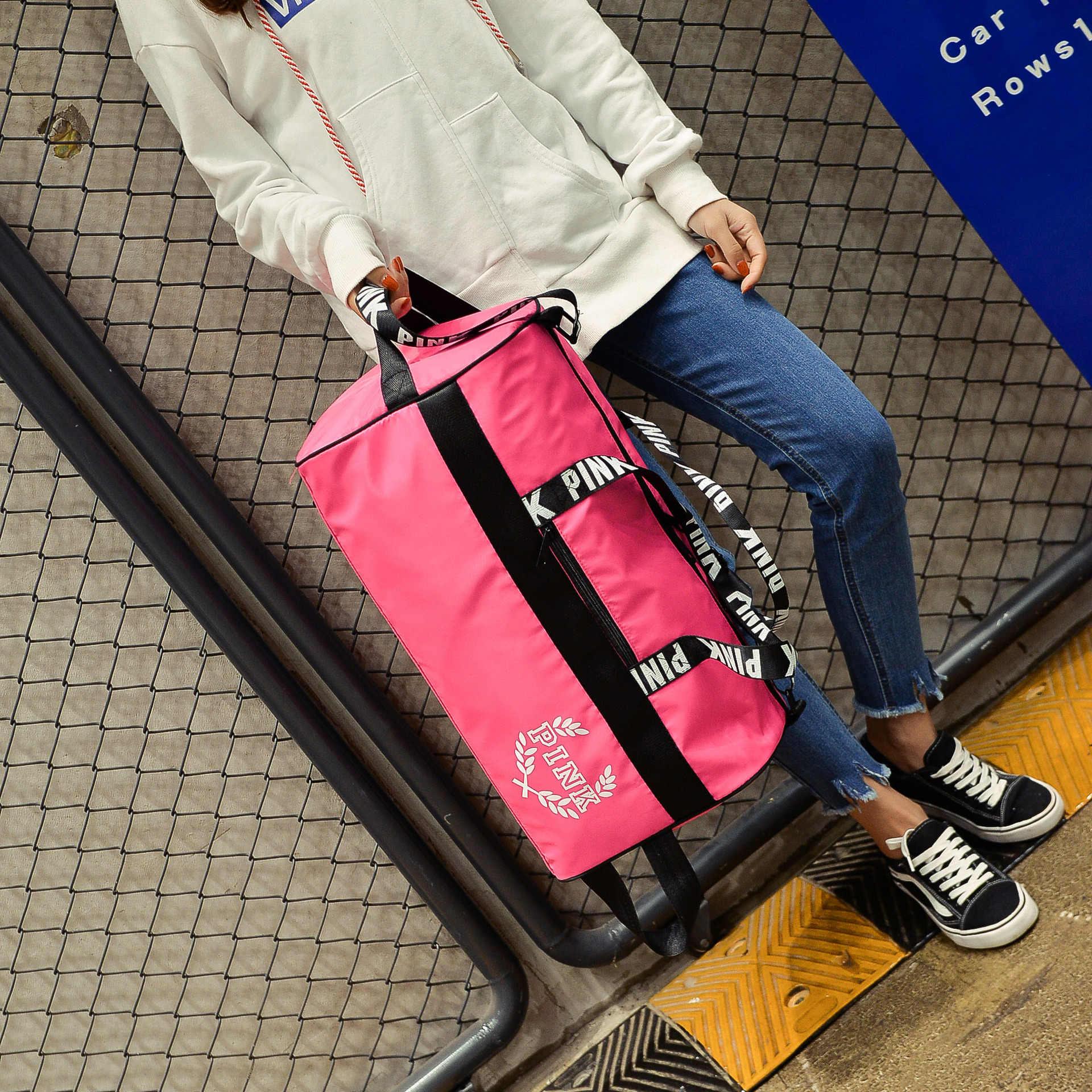 35fe8d24b426 ... 2018Waterproof Shoulder Sport Gym Bag for Shoes Storage Women Fitness  Yoga Training Bags Men s Gymnastic Handbag ...