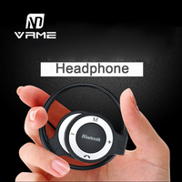 2017 Vrme Wireless Bluetooth Headphone Professional Sport Music Headset Stereo Earphone Suppot TF Card For IPhone