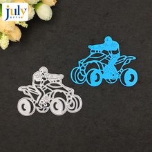 Julyarts Cutting Dies Biker Hot Selling Die Metal for Scrapbooking Beauty Creations Cuts Card Making